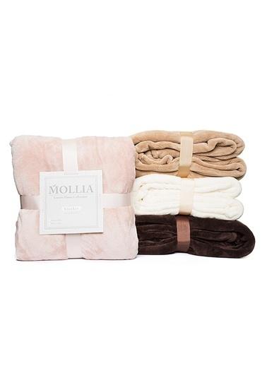 Mollia Soft Touch Çift Kişilik Battaniye Pembe